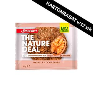 Natural Deal cookiebar Walnut & Cocoa 50g BF171120