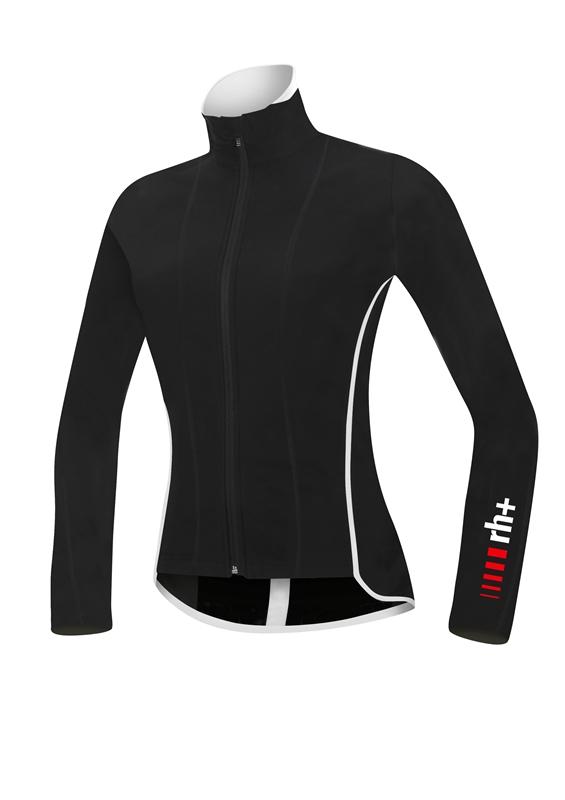 rh+ Breeze W Wind cykeltrøje sort/hvid | Trøjer