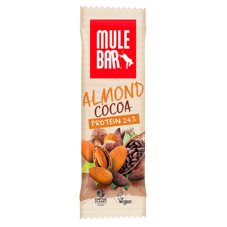 Vegan Almond Cocoa proteinbar 42g | Protein bar and powder