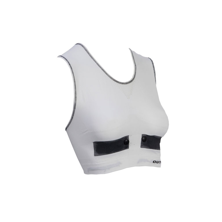 Outwet Heartbeat svedtop hvid | Heart rate monitors