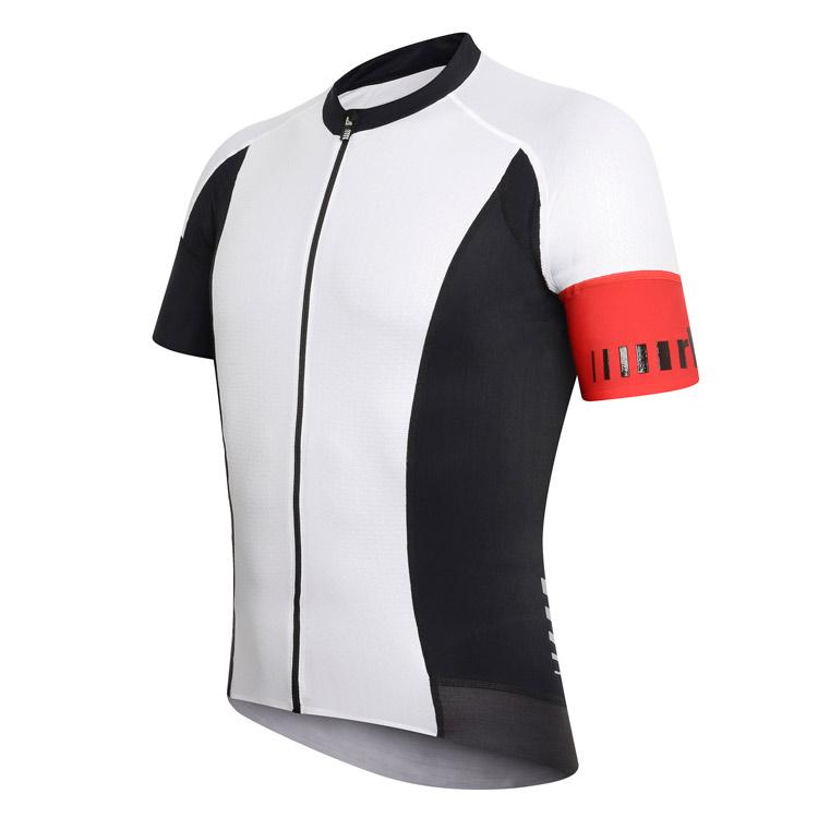 rh+ PW Dualcell Xlight cykeltrøje hvid/sort | Trøjer