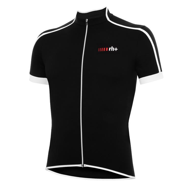 rh+ Prime cykeltrøje sort-hvid | Trøjer