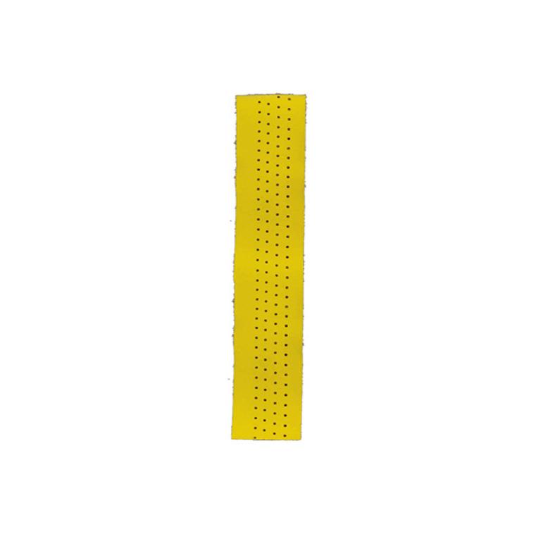 San Marco Vintage styrbånd glat læder gul   Bar tape