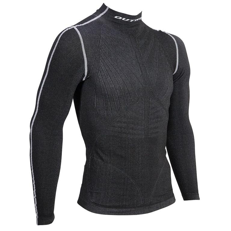Outwet WP3 svedtrøje langærmet sort | Undertøj og svedtøj