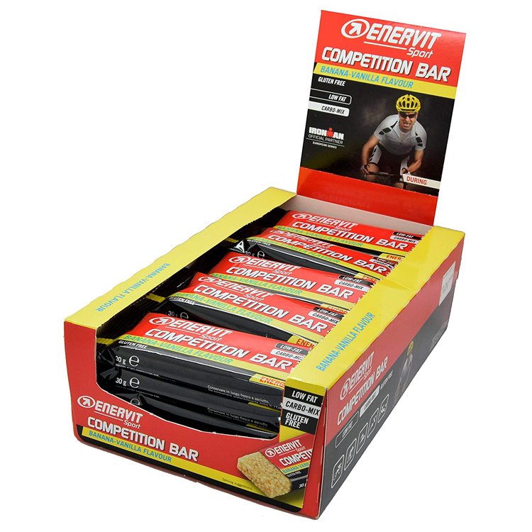 Enervit Sport Comp Bar Banan/Vanilla 25x30g   Misc. Nutrition