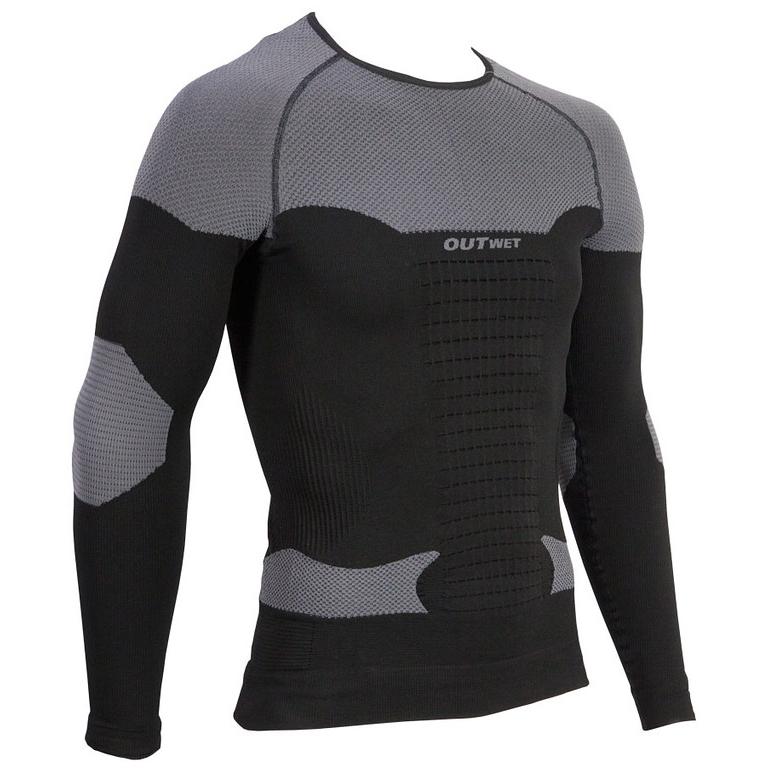 Outwet Deepimpact svedtrøje langærmet sort | Undertøj og svedtøj