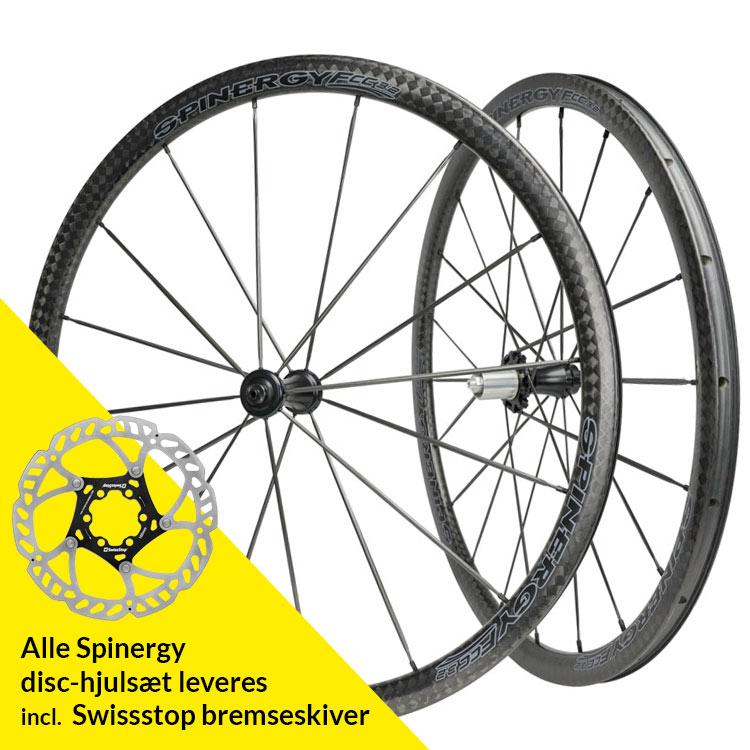 Spinergy FCC 3.2 DB Full Carbon PBO Bladed hjulsæt | Wheelset