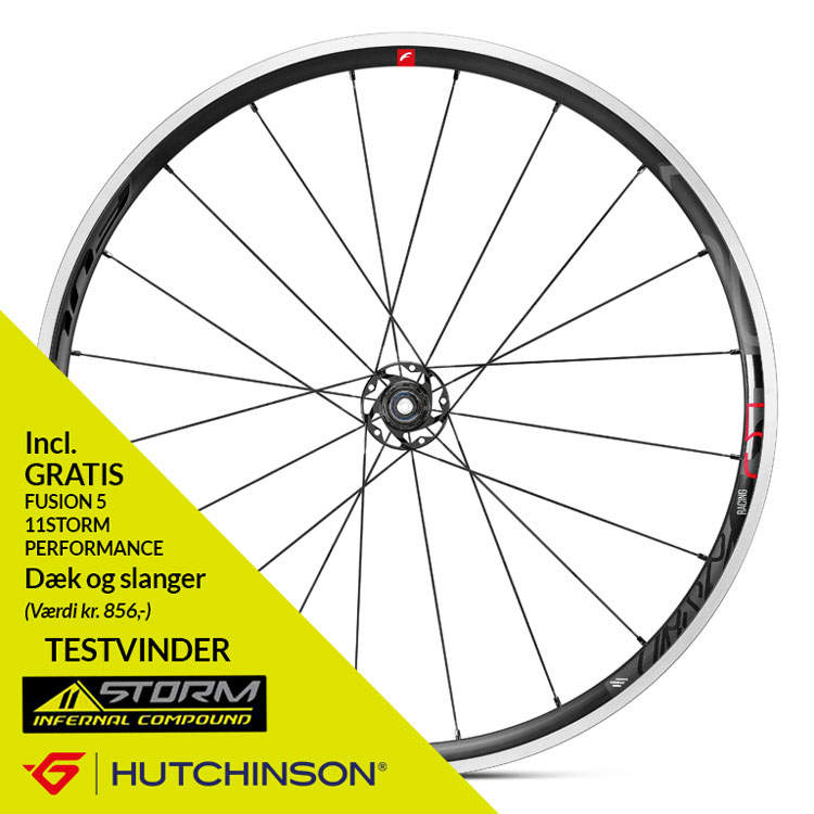 Fulcrum Racing 5 C17 hjulsæt HG11 | Wheelset