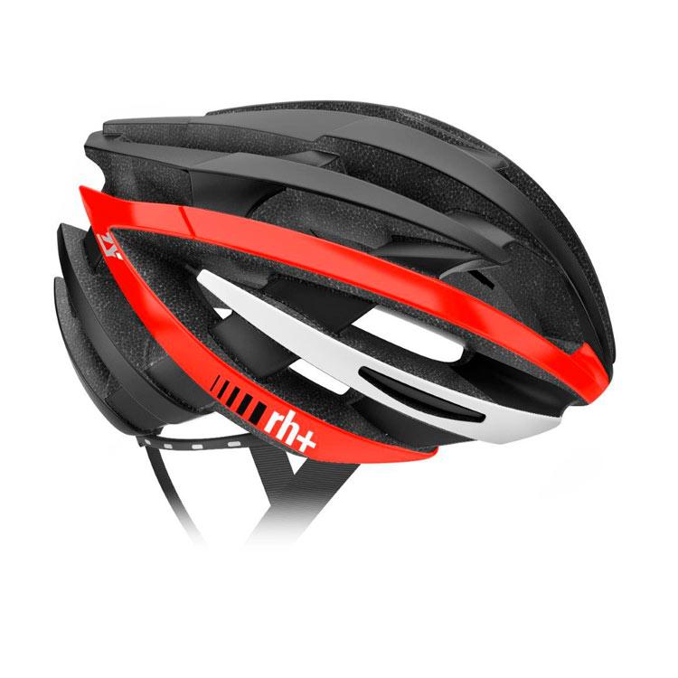 rh+ ZY cykelhjelm Mat black/shiny red | Helmets