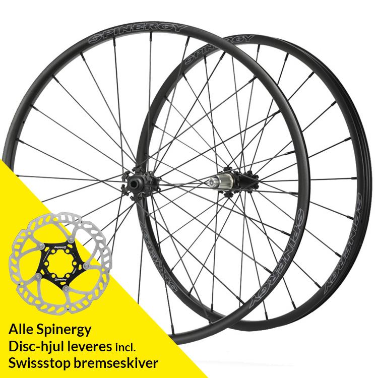 Spinergy Gravel hjulsæt 142/12 HG11 | Wheelset