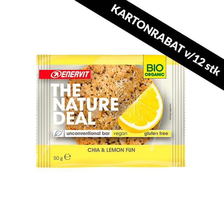 The Nature Deal cookiebar Chai & Lemon 50g
