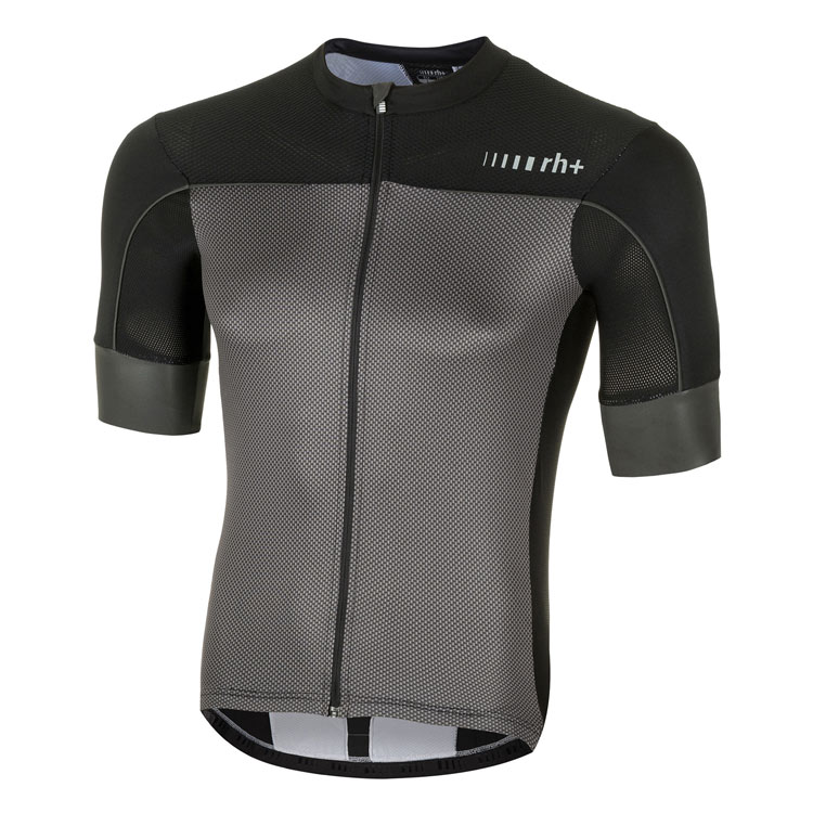 rh+ Lapse Jersey Black, Carbon | Trøjer