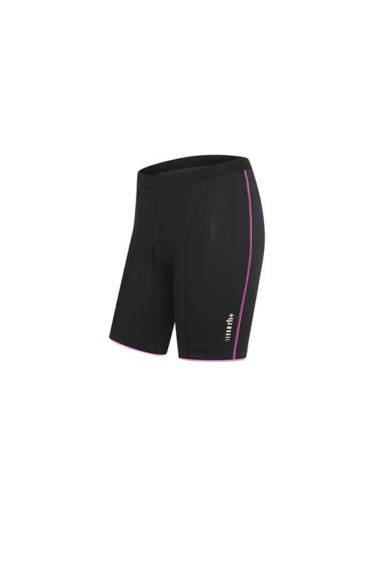 rh+ Mirage W cykelshorts sort/deep pink | Bukser