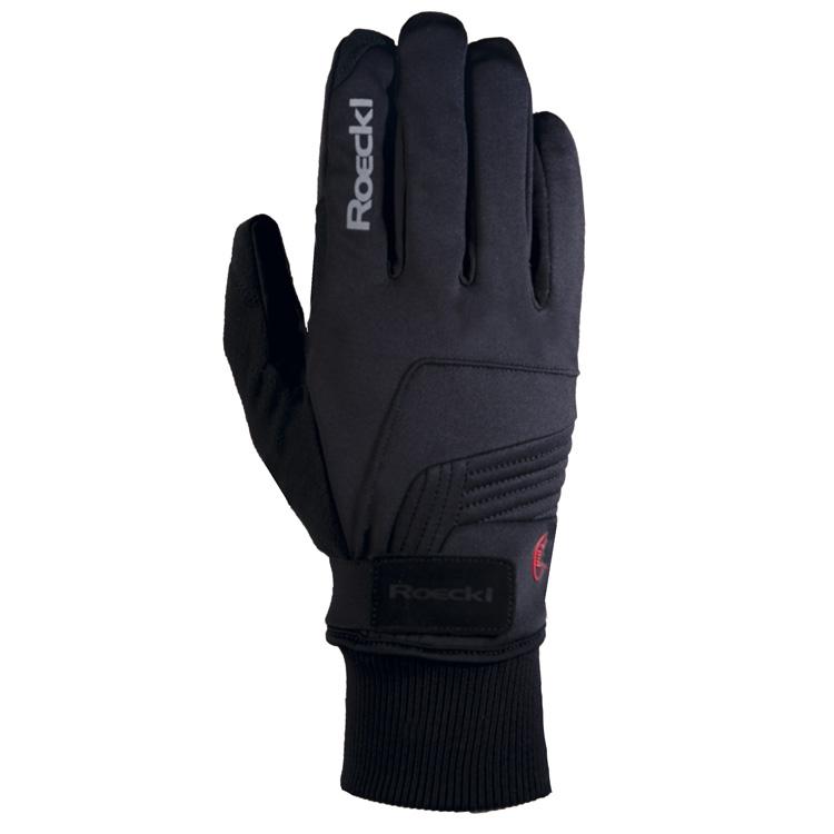 Roeckl Rebelva FF vinter cykelhandsker sort | Gloves