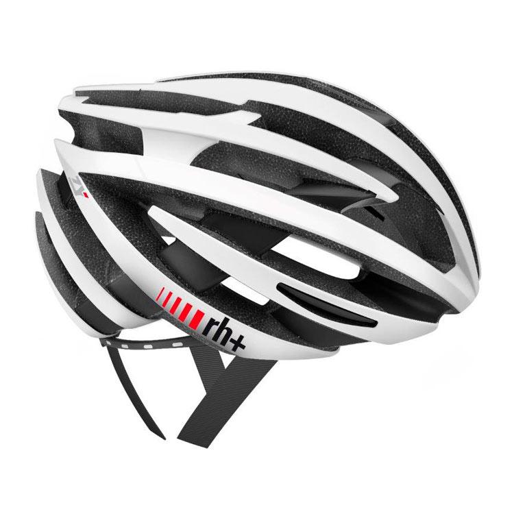 rh+ ZY cykelhjelm mat hvid / mat sort   Helmets