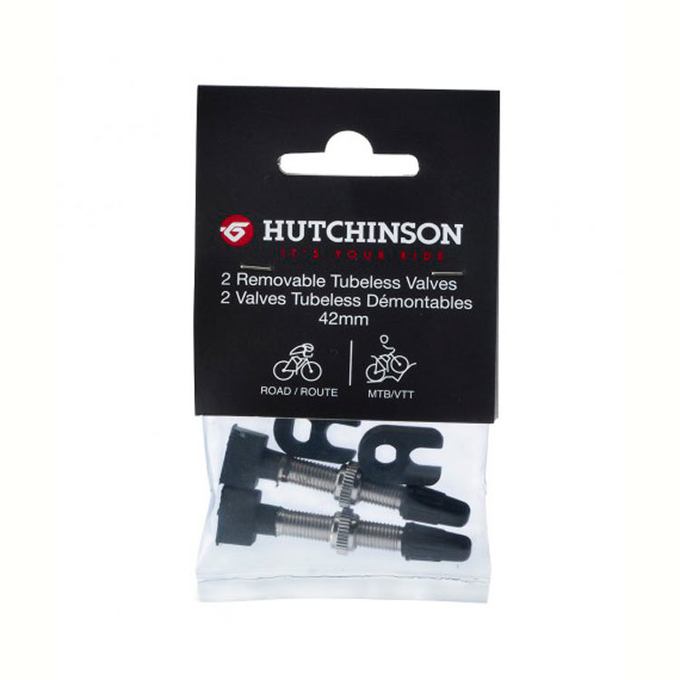 Hutchinson 2 Valves Tubeless 42mm | Valve