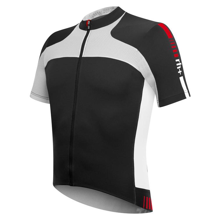 rh+ Agility cykeltrøje sort/hvid | Trøjer